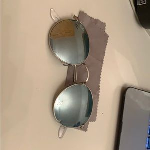 Silver ray bans 8/10 condition